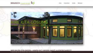 Webseite erstellt für Braasch Projekt GmbH