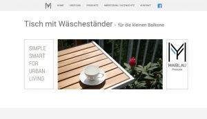 Homepage erstellt für Maiblau