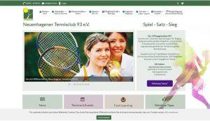 Homepage erstellt für NTC 93 e.V.