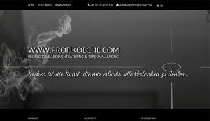 Webseite erstellt für Profikoeche
