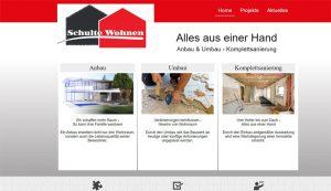 Homepage erstellt für Schulte Wohnen