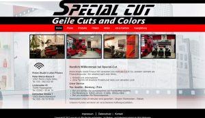 Homepage erstellt für Special Cut