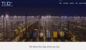 Homepage erstellt für TDD GmbH