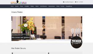 Webseite Kopf Design