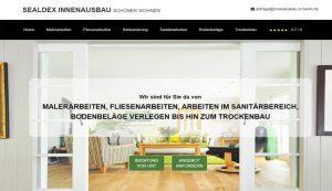 Homepage Sealdex Innenausbau