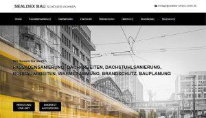 Homepage Sealdex Rohbau